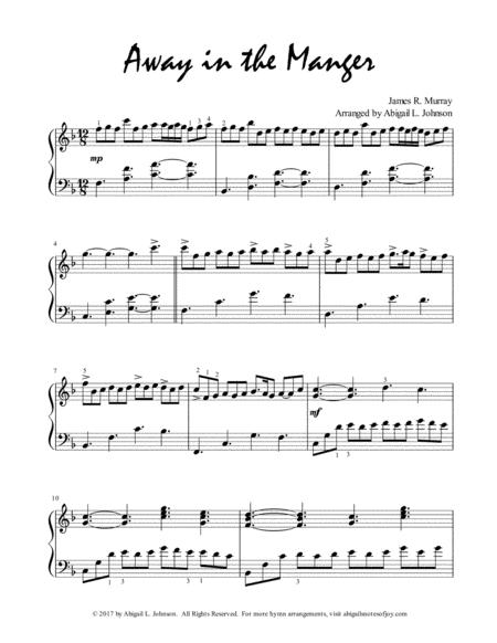 Away in the Manger (Expressive Piano Solo)