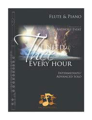 I Need Thee Every Hour—Flute & Piano