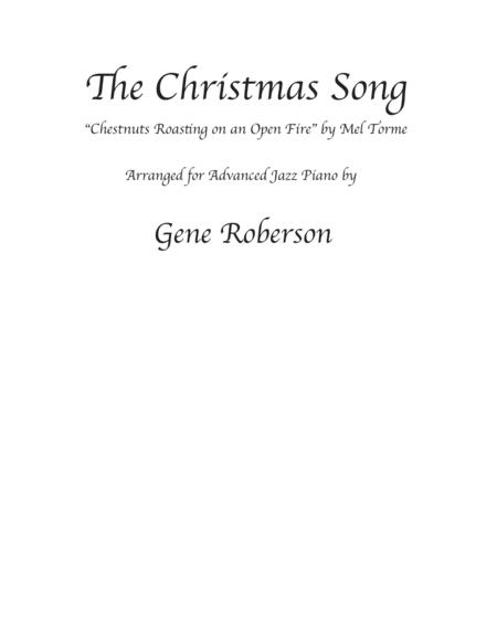 The Christmas Song (Chestnuts Roasting On An Open Fire) arranged for Jazz Piano