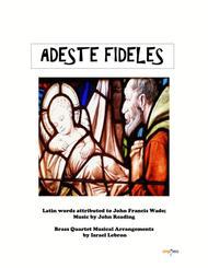 Adeste Fideles - O Come, All Ye Faithful/Brass