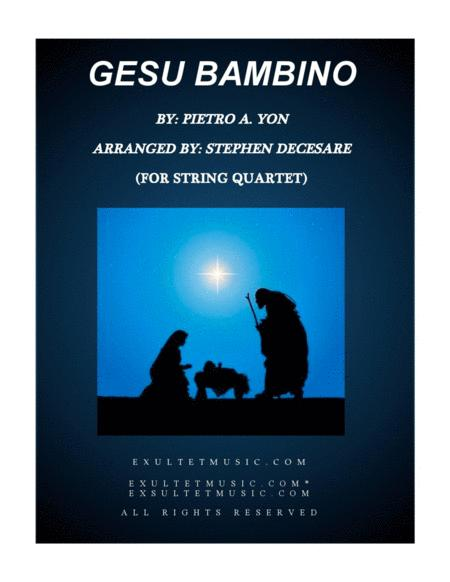 Gesu Bambino (for String Quartet)