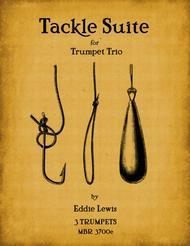Tackle Suite for Trumpet Trio by Eddie Lewis