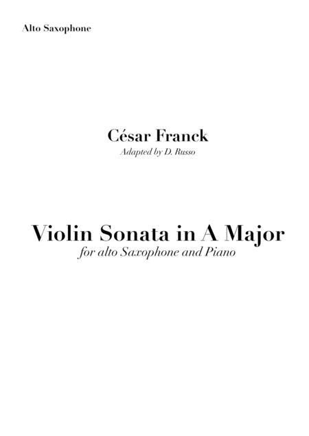 Violin Sonata in A Major