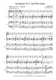 Beethoven's 7th Symphony, 2nd Movement