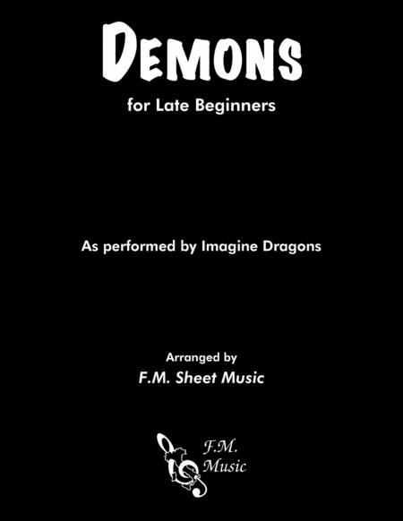 Demons (Easy Piano)