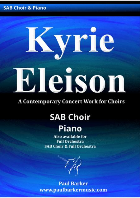 Kyrie Eleison (Piano/Vocal Score)