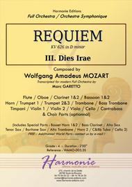 MOZART - REQUIEM K. 626 - Dies Irae - Full Orchestra - SCORE & PARTS