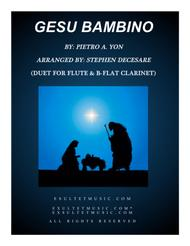Gesu Bambino (Duet for Flute  and Bb-Clarinet)