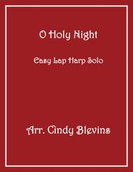 O Holy Night, arranged for Easy Lap Harp