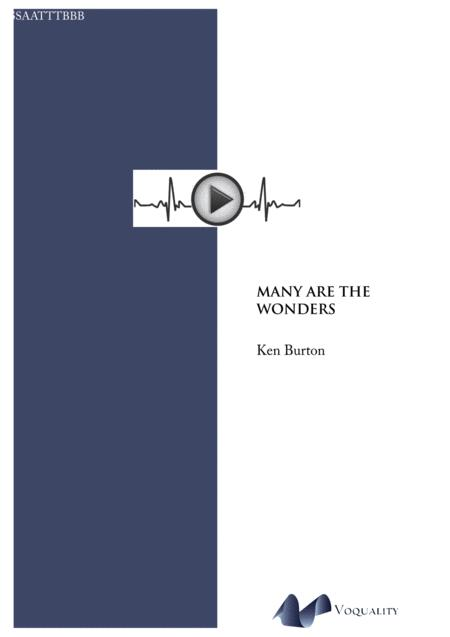 Many Are The Wonders (Reflection on Tallis 'Loquebantur')