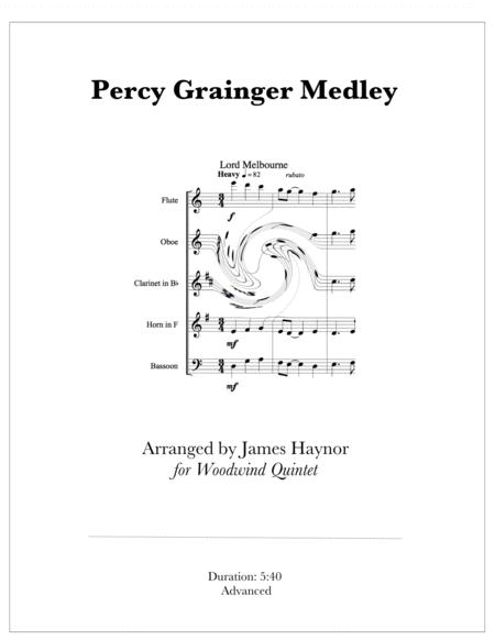 Percy Grainger Medley for Woodwind Quintet