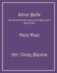 Silver Bells, arranged for Harp Duet