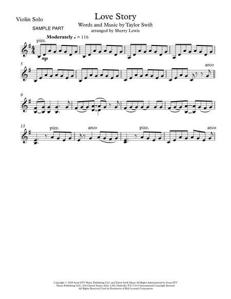 Love Story Violin Solo