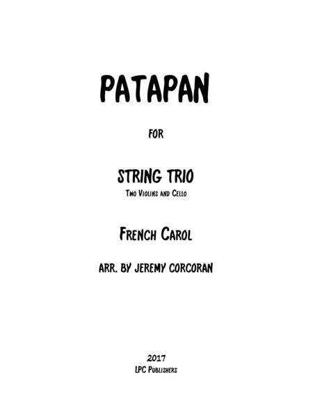 Patapan for String Trio