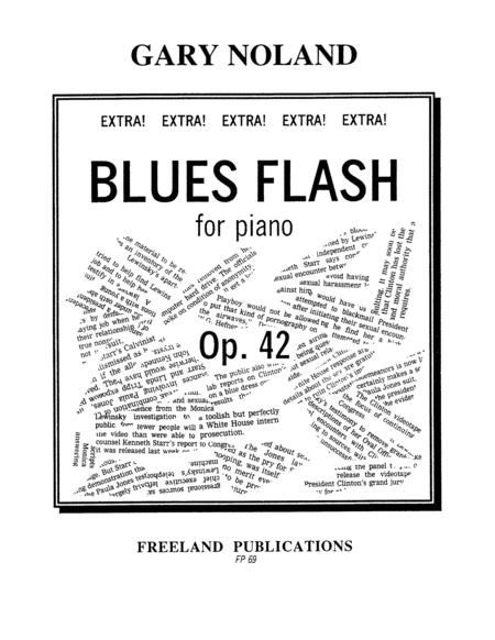 Download Blues Flash For Piano Op 42 Sheet Music By Gary Noland