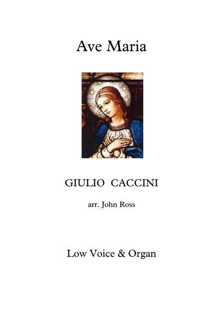 Ave Maria (Low voice, Organ)