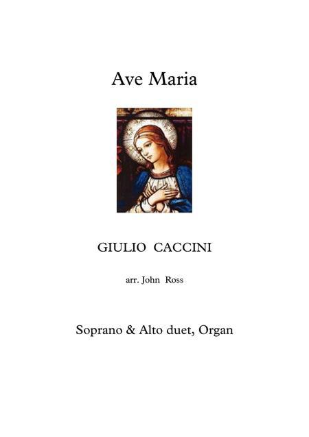 Ave Maria (Soprano & Alto duet, Organ)