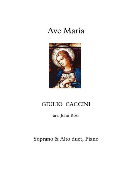 Ave Maria (Soprano & Alto duet, Piano)