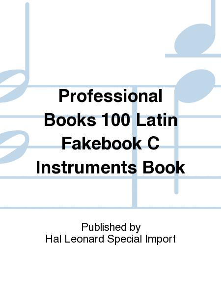 the real latin book c instruments