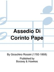 Assedio Di Corinto Pape