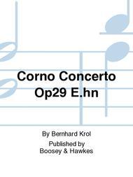 Corno Concerto Op29 E.hn
