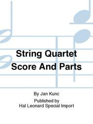 String Quartet Score And Parts