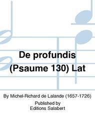 De profundis (Psaume 130) Lat
