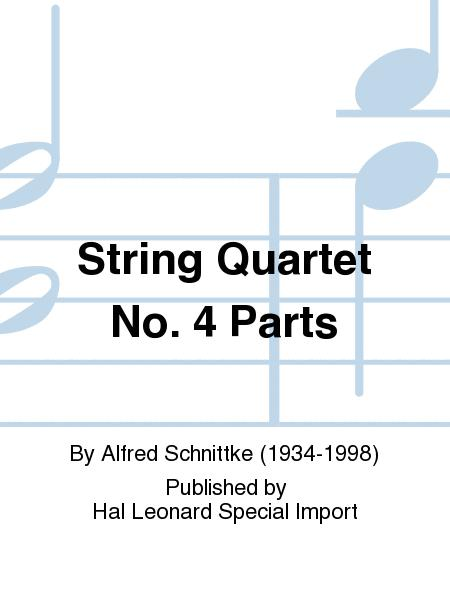 String Quartet No. 4 Parts