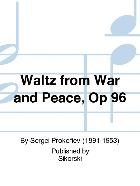 Waltz from War and Peace, Op 96