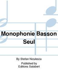 Monophonie Basson Seul