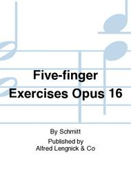 Five-finger Exercises Opus 16