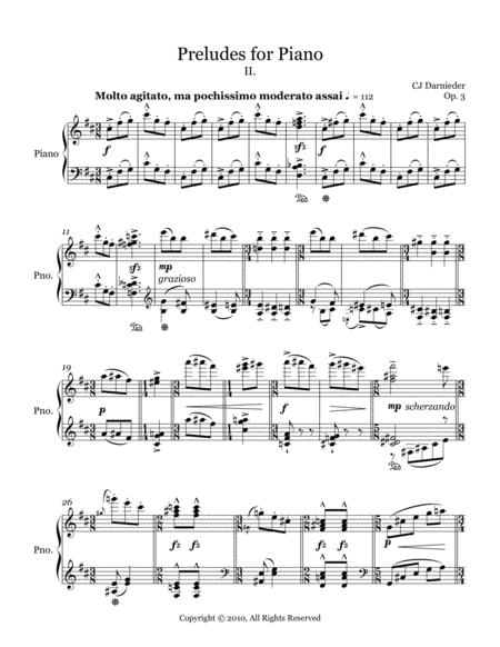 Preludes for Piano - II.