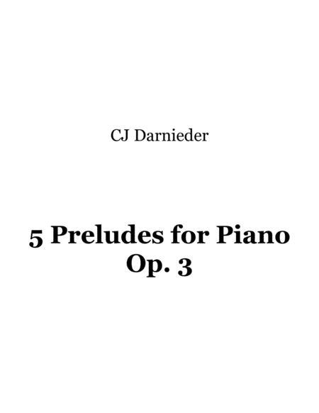 Preludes for Piano - I.