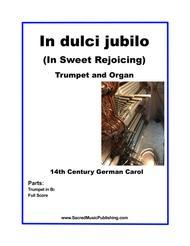 In dulci jubilo -  One Trumpet and Organ
