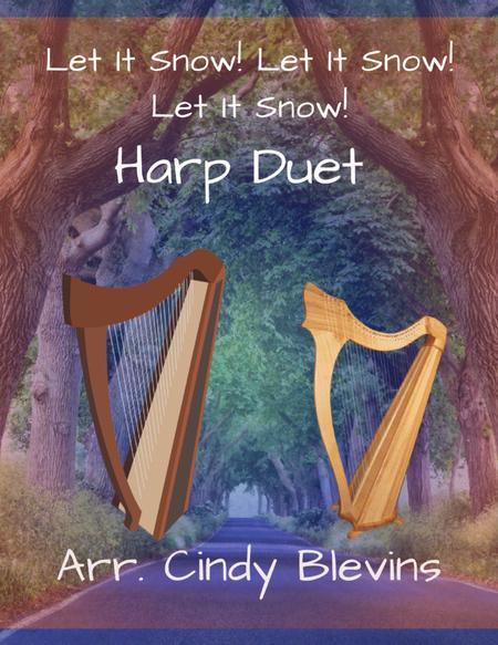 Let It Snow! Let It Snow! Let It Snow! arranged for Harp Duet