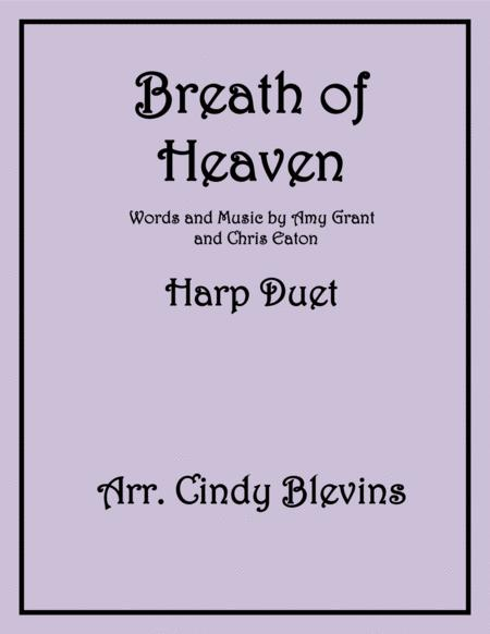 Breath Of Heaven (Mary's Song), arranged for Harp Duet