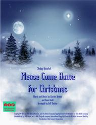 Come Home For Christmas.Download Please Come Home For Christmas Sheet Music By The