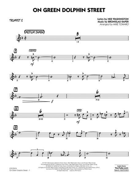 On Green Dolphin Street - Trumpet 2