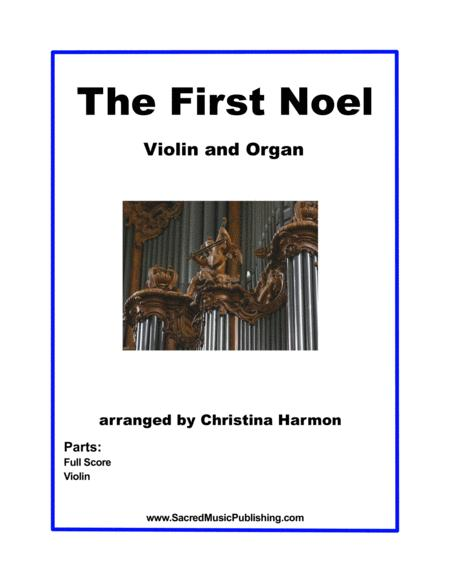The First Noel -  Violin and Organ