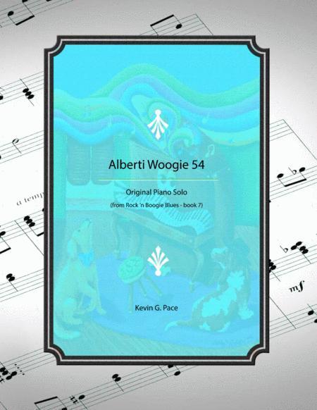 Alberti Woogie 54 - original piano solo