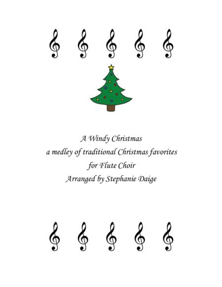 A Windy Christmas for Flute Choir