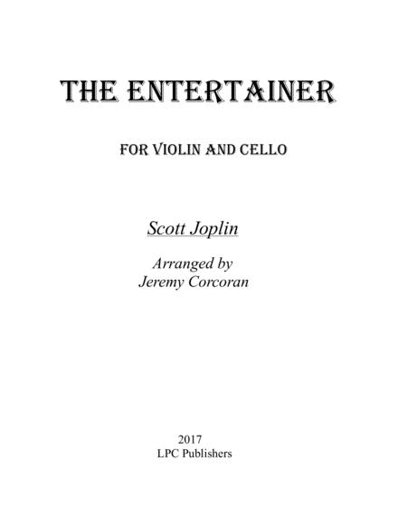 The Entertainer for Violin and Cello