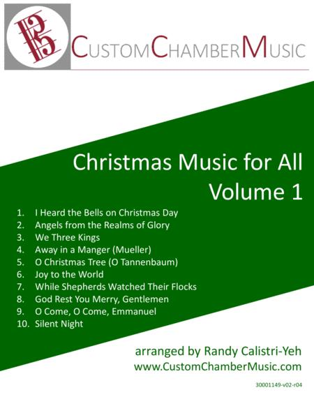 Christmas Carols For All Volume 1 By Various Digital Sheet Music For Score Download Print S0 272807 Sheet Music Plus