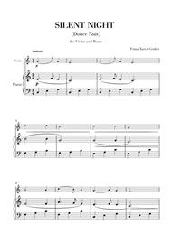 Silent Night (for Violin and Piano)