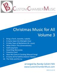 Christmas Carols for All, Volume 3