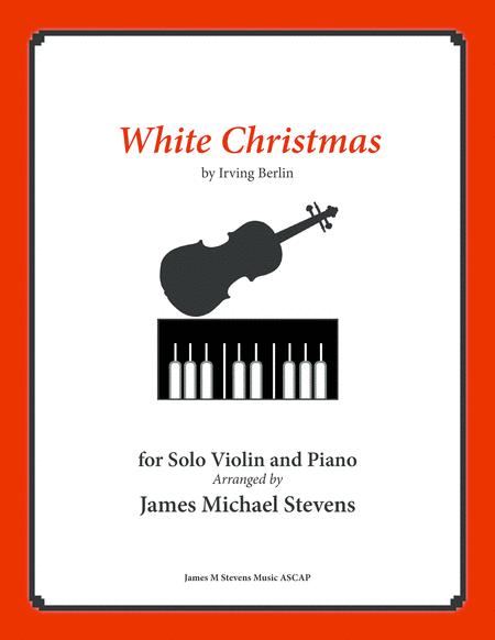 White Christmas - Solo Violin & Piano