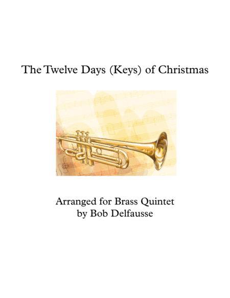 The Twelve Days (Keys) of Christmas, for Brass Quintet