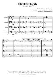 Christmas Lights (String Quartet)