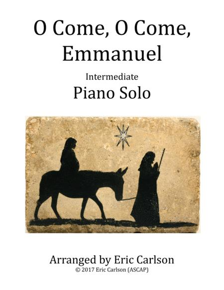 O Come, O Come, Emmanuel (Piano Solo by Eric Carlson)