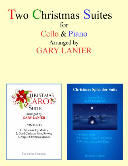 TWO CHRISTMAS SUITES (Cello and Piano with Score & Parts)